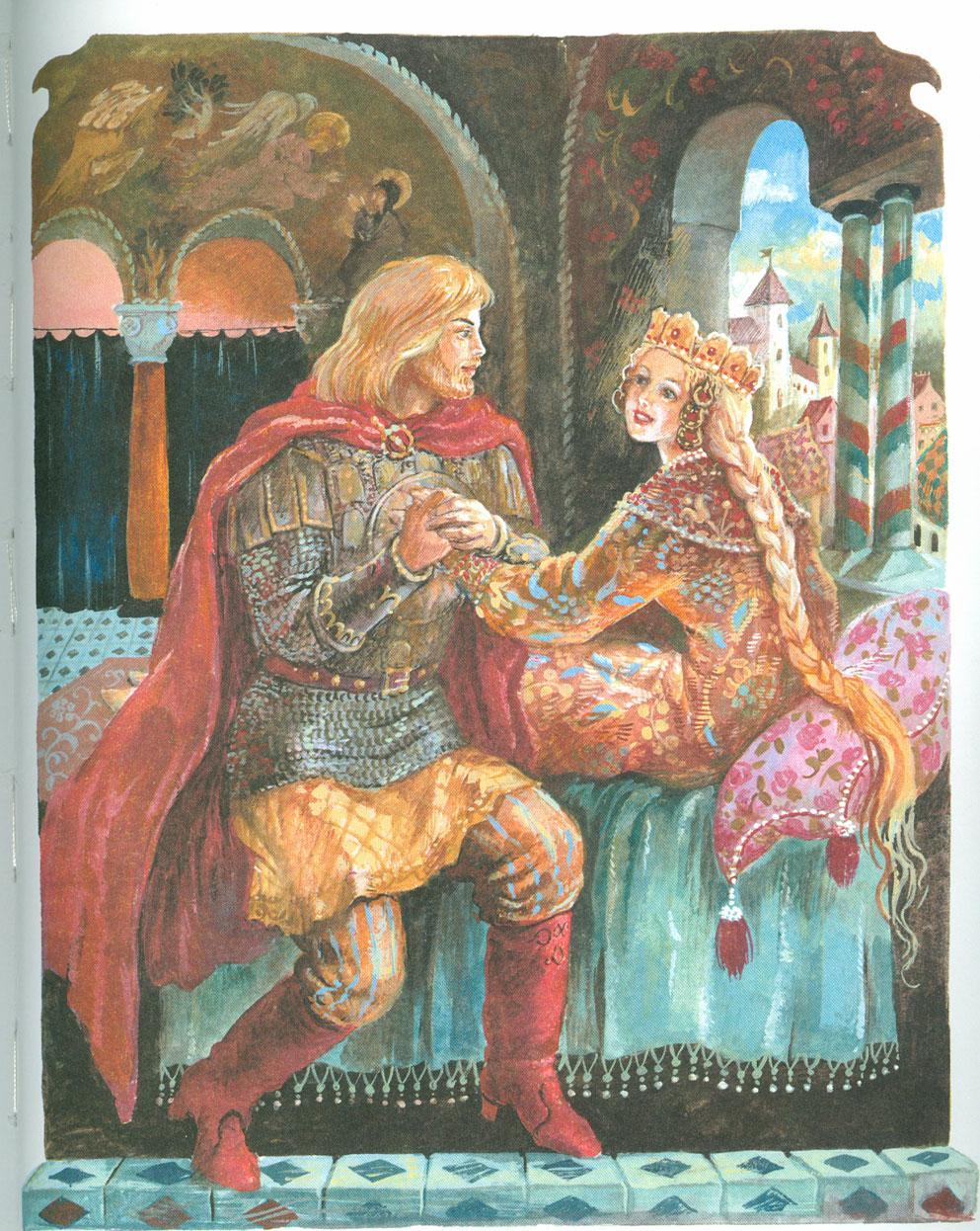 Картинки руслан и людмила пушкин, видео поздравления